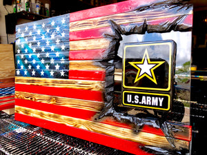 "32""American Flag - US Army Patch Series"