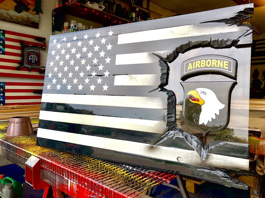 "Subdued 101st Airborne ""Screaming Eagles"" Patch Series"