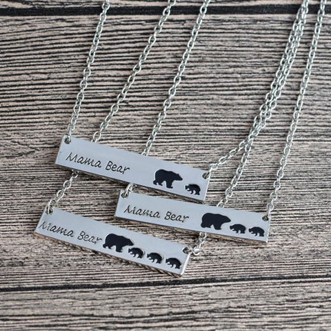 Mama Bear Necklace - Tiny Closet