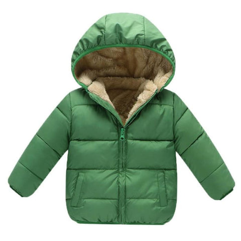 Plush Winter Jacket - Tiny Closet