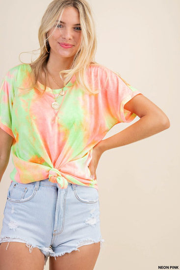 Dream On Tie Dye Tee