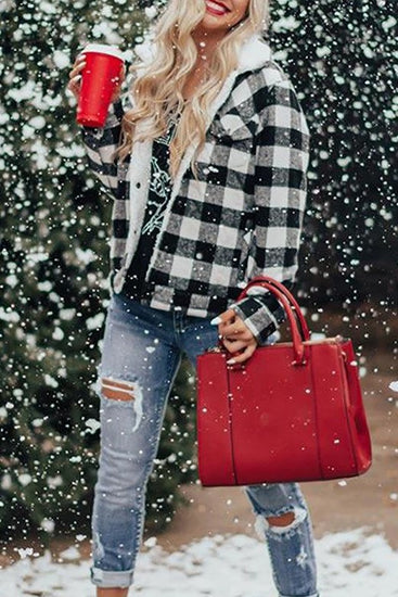 Fall Forever Buffalo Plaid Jacket