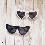 Heart Eyes Sunnies Black