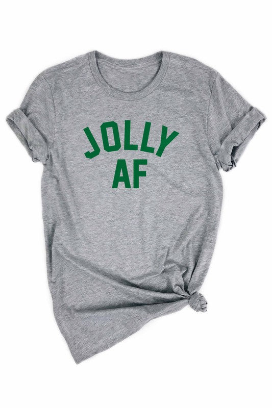 Jolly AF Holiday Tee