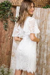 Lace Dreams White Dress