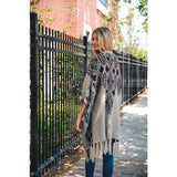 Autumn Air Ruana Poncho