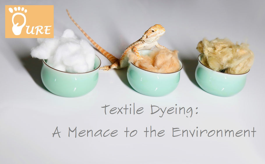 Textile Dyeing: A Menace to the Environment