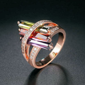 Crystal Embrace Ring