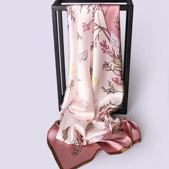 Seaside Visions - Silk Scarf