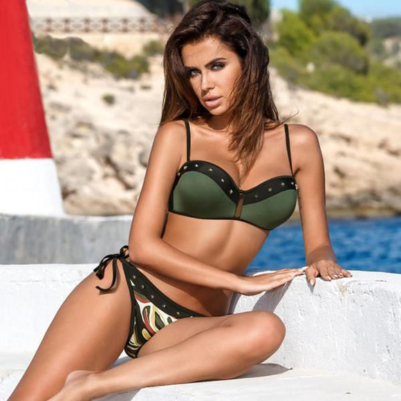 Brazilian Camo - Bathing Suit