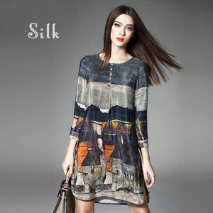 Townie - Silk Dress