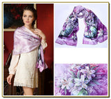 The Lily Silk Scarf