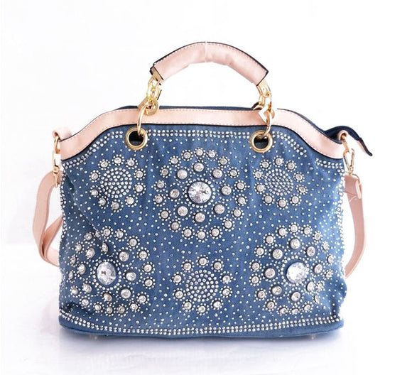 Denim & Diamonds Handbag