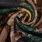 Earth Tones -Silk Scarf