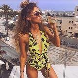 Brazilian Spotted Yellow Monokini