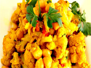 The Perfect Curry Cauliflower & Channa