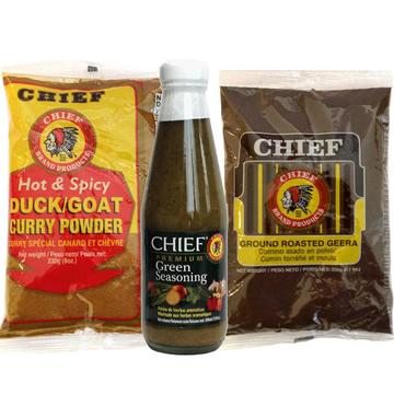 Chief Hot & Spicy  Variety 3-Pack