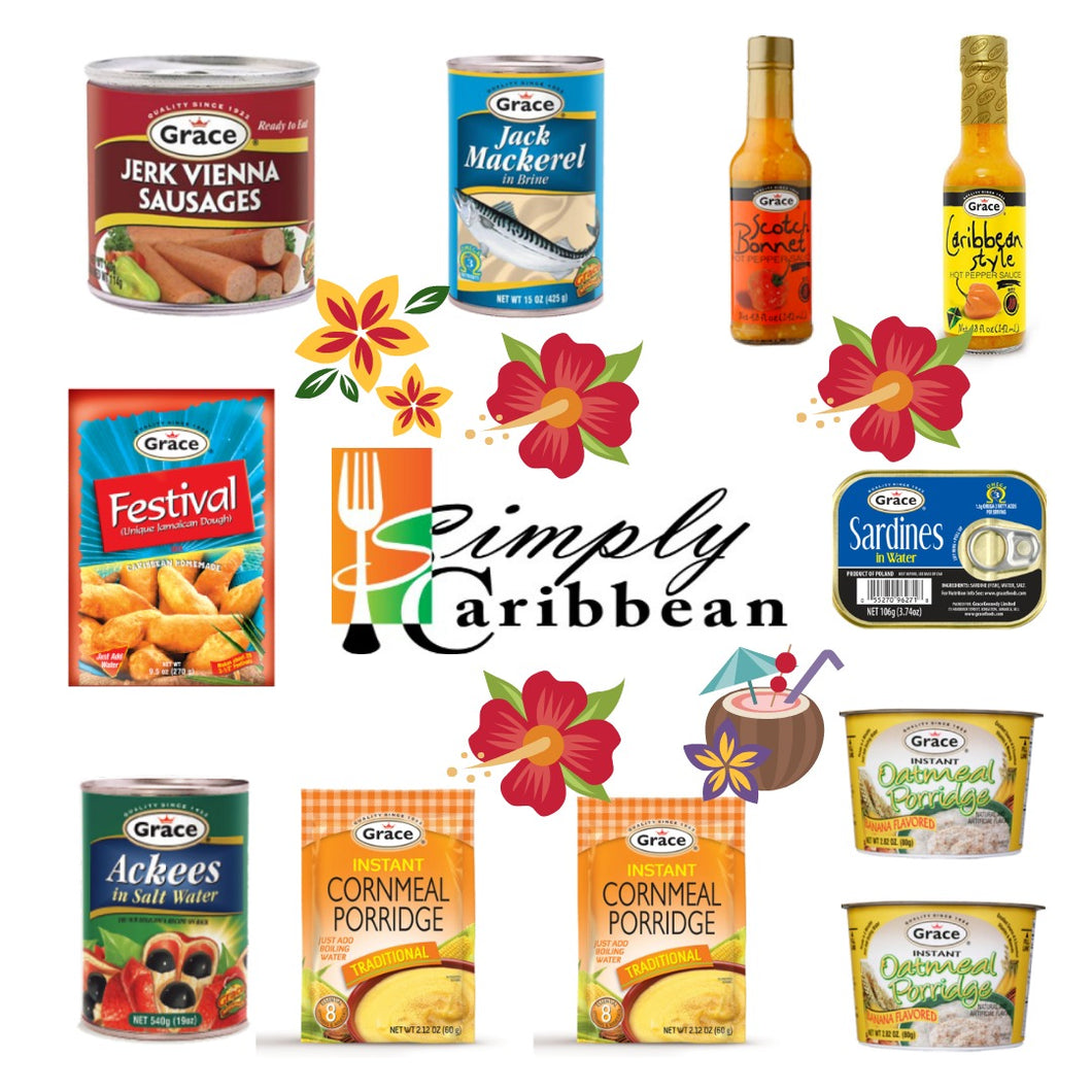 Grace Jamaican Breakfast & More Bundle