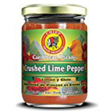 Chief Crushed Lime Pepper Sauce