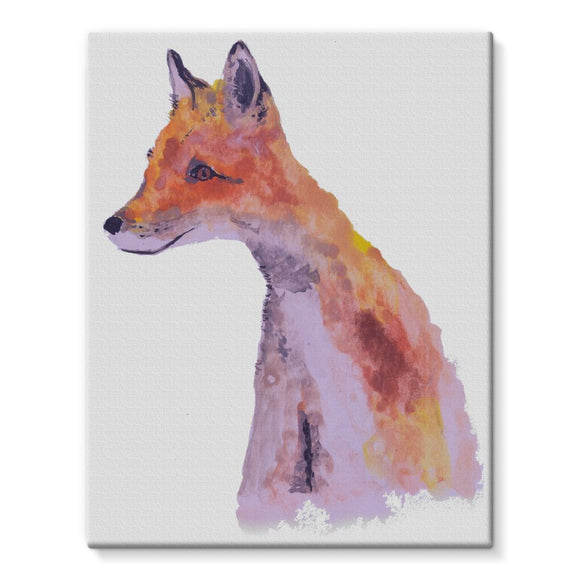 FOXY Stretched Eco-Canvas
