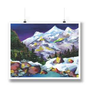 White Mountains Print
