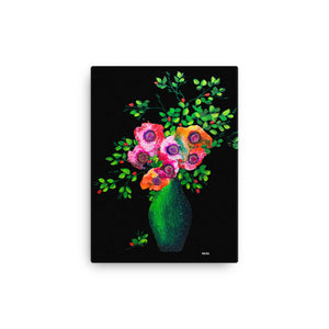 Papaver Print on Canvas