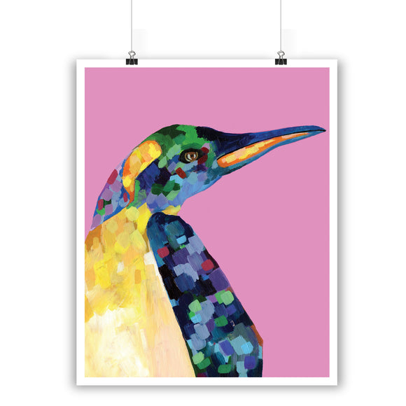 King Penguin Print
