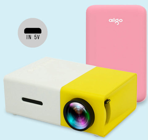 Mini Portable Projector 2