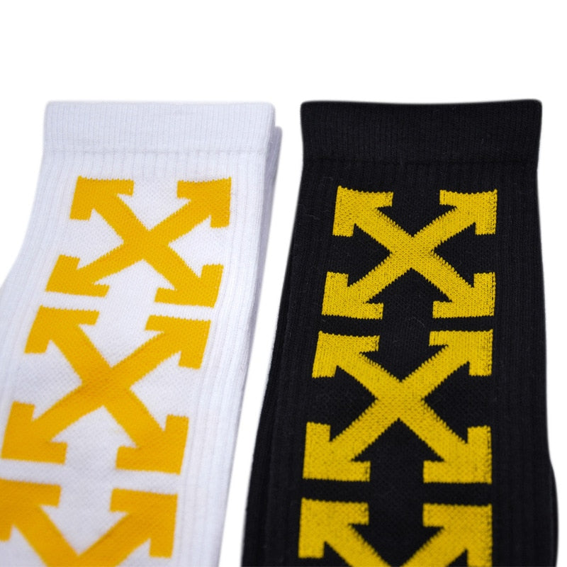 Off White™ TM WILL Arrow Harajuku Socks - Kangaroo Buddy