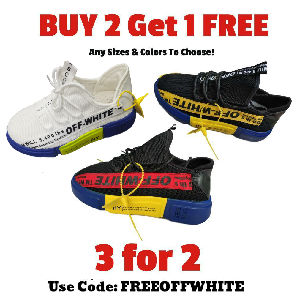 Buy 2 Get 1 FREE Off White™ TM WILL Sneakers