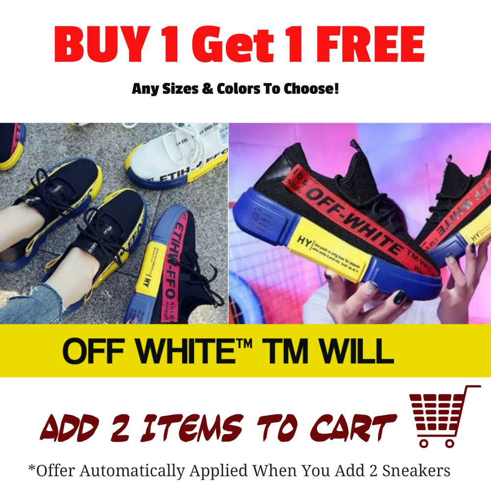 1-For 1 Off White TM Will Sneakers