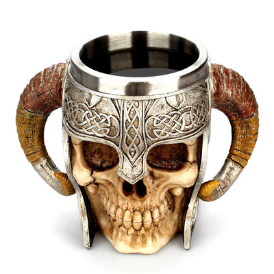 Skeleton Warrior Mug