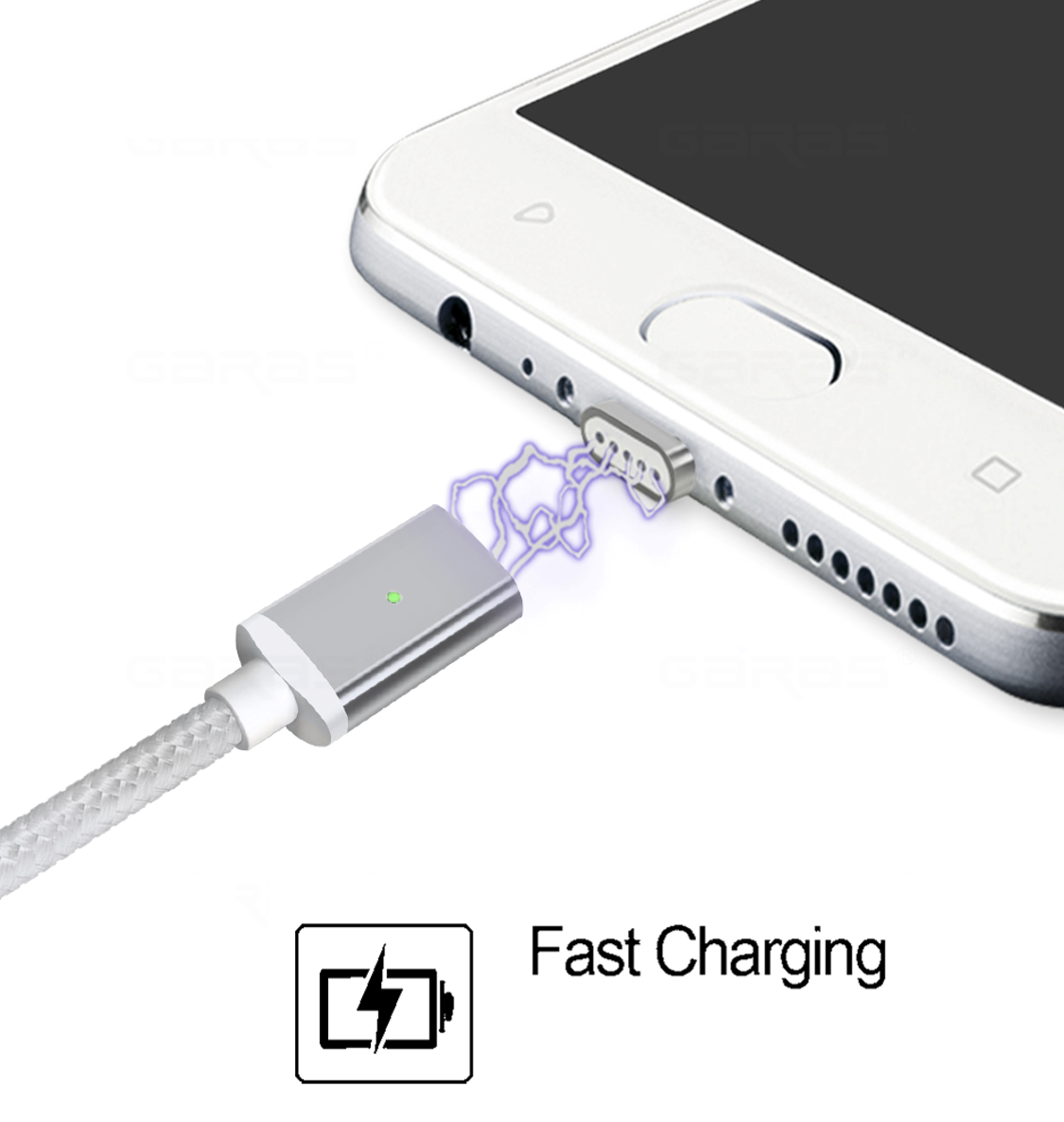 ConnectMe™ Magnetic Cable Lightning Fast Charger - Kangaroo Buddy