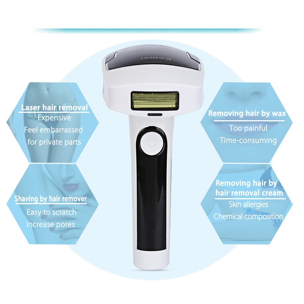 Kemei®️ Pro Permanent (Painless Laser Hair removal)