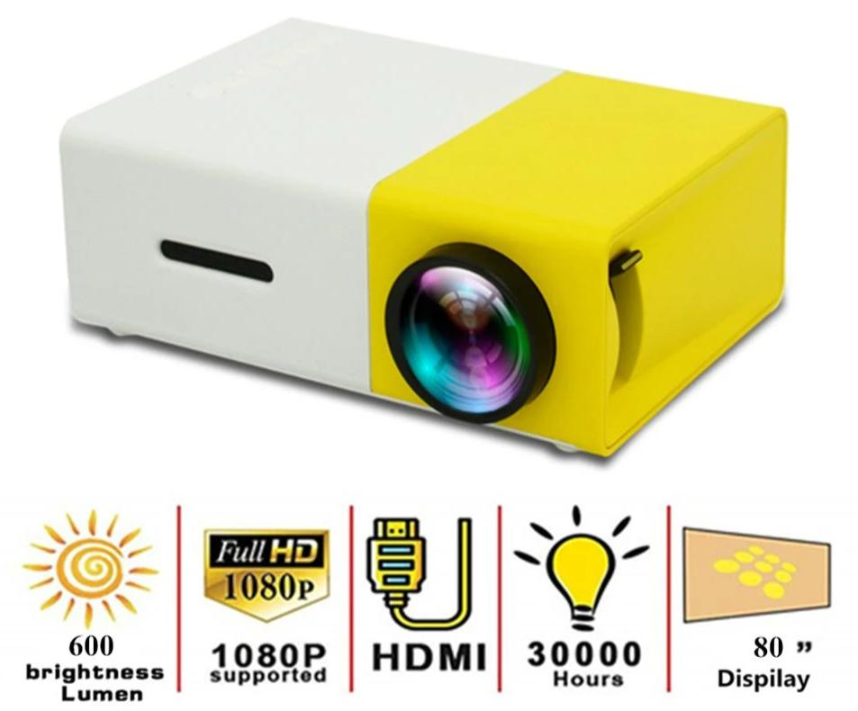 Mini Portable LED Projector - Kangaroo Buddy