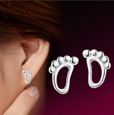 Lovely Baby Feet Earrings