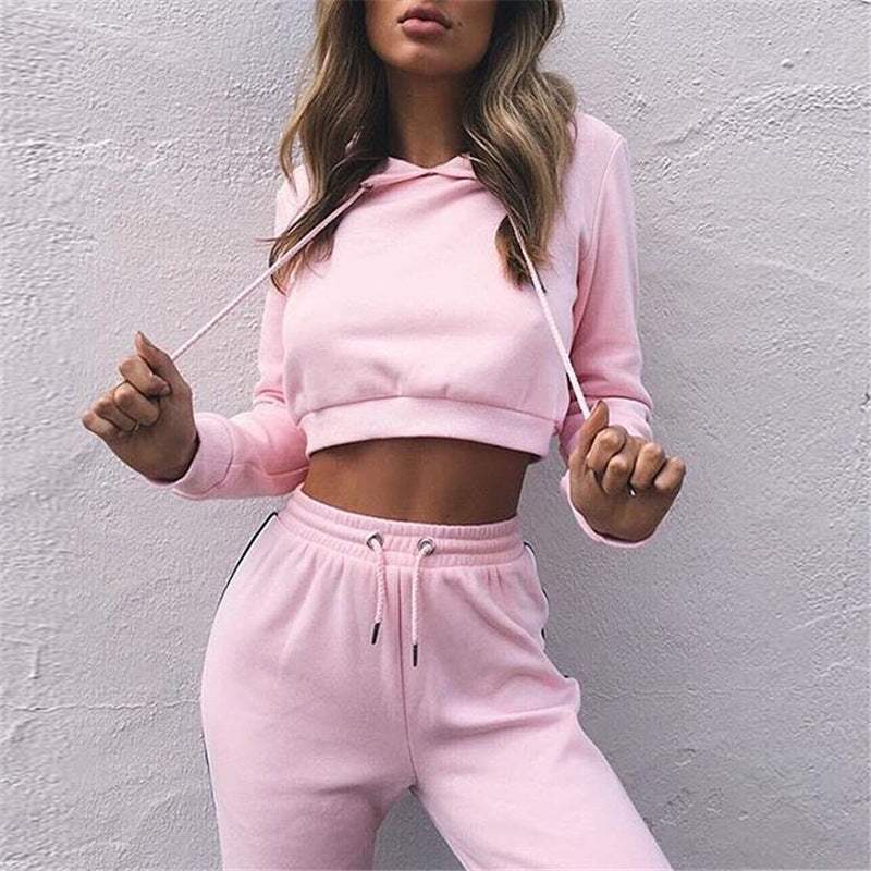 Pink Premium Crop Top - Kangaroo Buddy