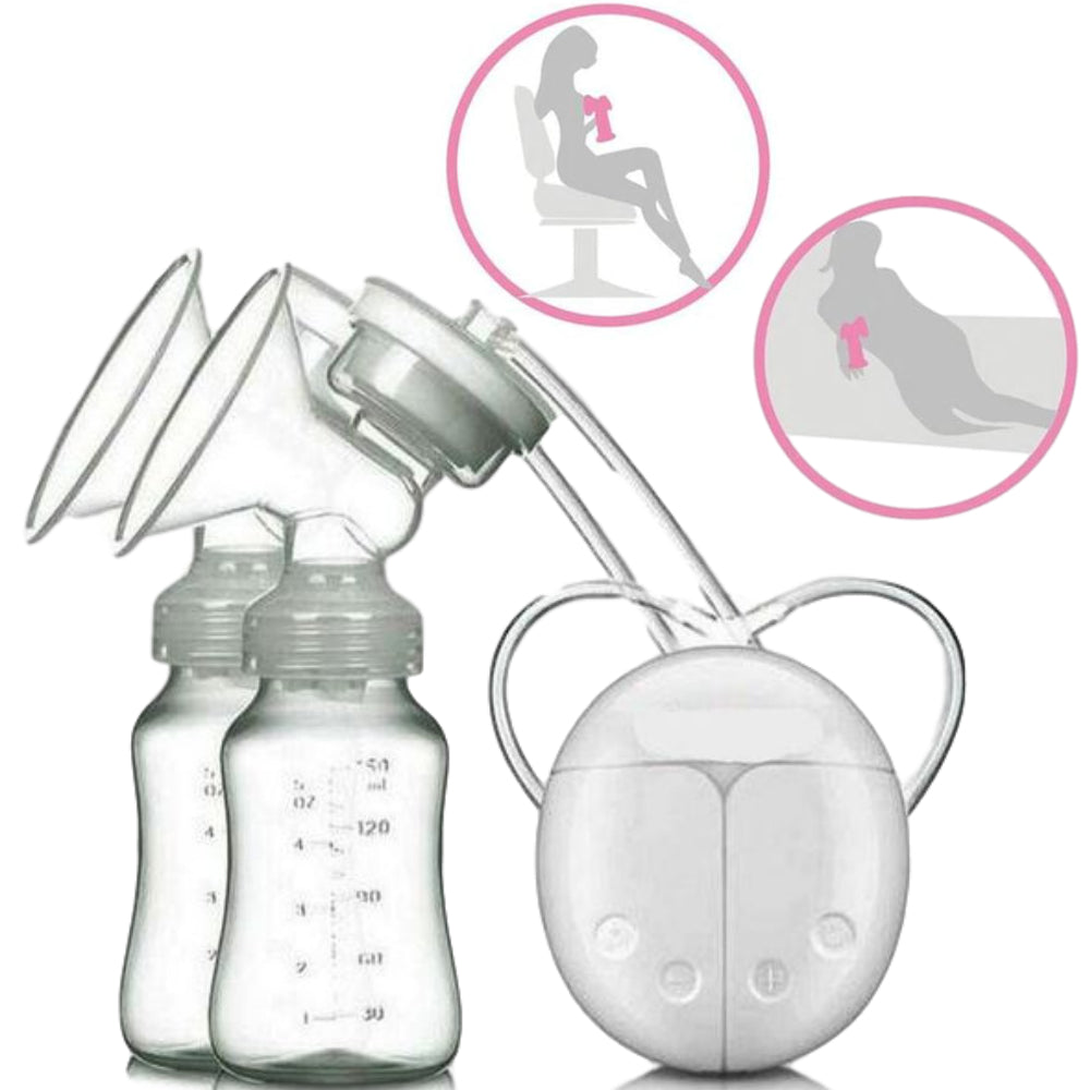 Automated Portable Double Electric Breast Pump - Kangaroo Buddy