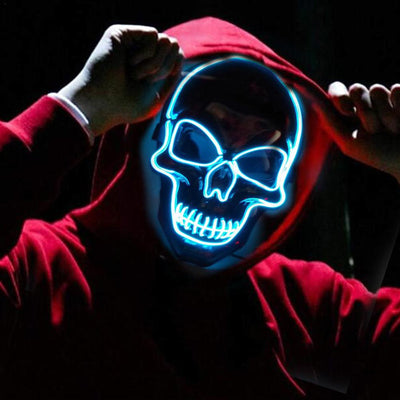 Glowing Thriller Mask