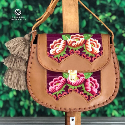 BOLSA BORDADA CROSSBODY
