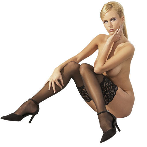 Wide Lace Stay Ups - Adult sex toys direct