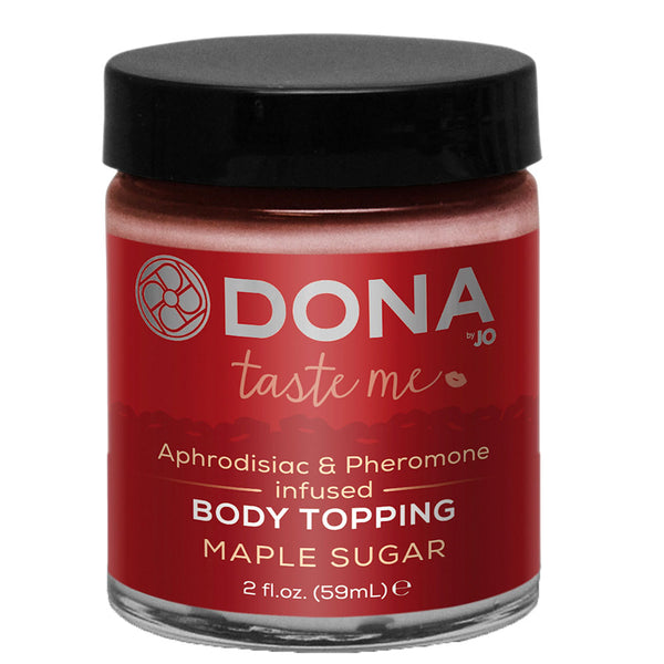 DONA Kissable Body Topping Maple Sugar 59ml - Adult sex toys direct