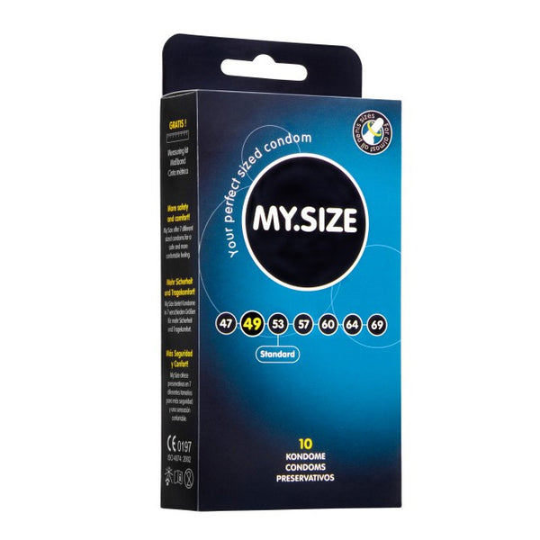 My.Size 49mm Condom 10 Pack - Adult sex toys direct