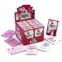 Mr Right Card Game - Adult sex toys direct