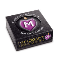 Monogamy Chocolate And Vanilla Small Intimate Candle 25g - Adult sex toys direct