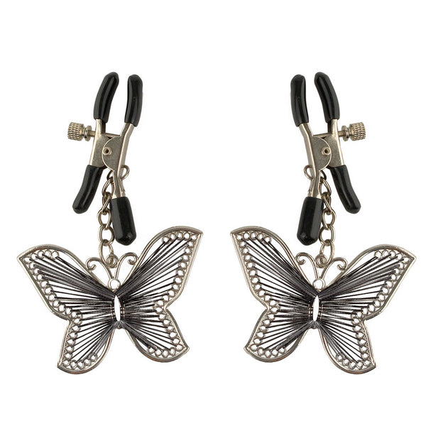 Fetish Fantasy Series  Butterfly Nipple Clamps - Adult sex toys direct
