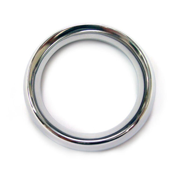 Rouge Stainless Steel Doughunt Cock Ring 45mm - Adult sex toys direct