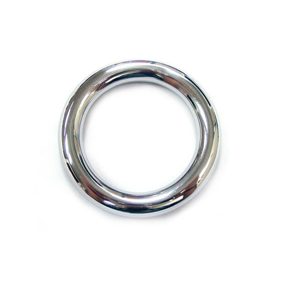Rouge Stainless Steel Round Cock Ring 45mm - Adult sex toys direct