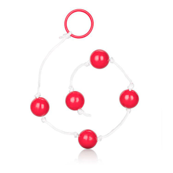 Medium Pleasure Anal Beads Assorted Colours - Adult sex toys direct