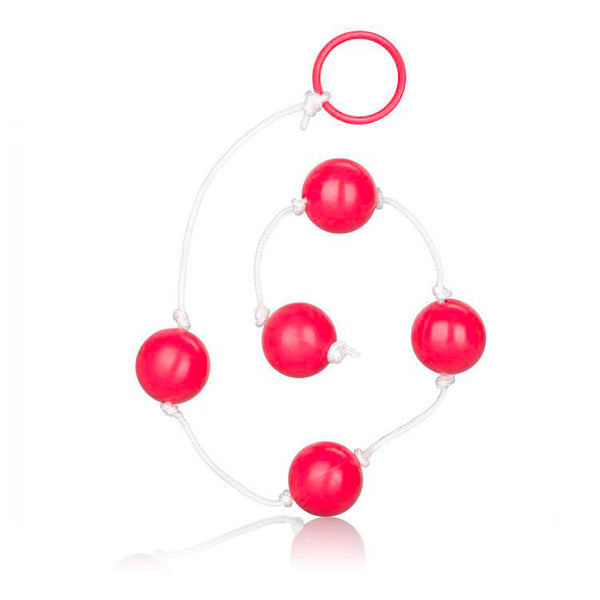 Large Pleasure Anal Beads Assorted Colours - Adult sex toys direct